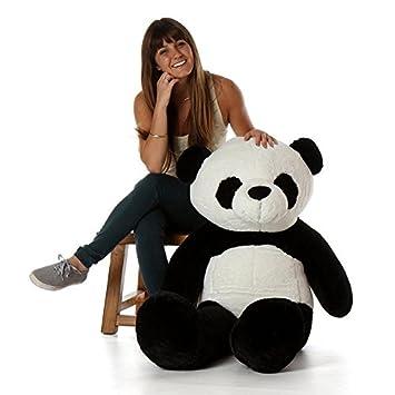 17cd7fa6b44 Image Unavailable. Image not available for. Colour  VAISHNO 3 Feet Stuffed  Spongy Huggable Cute Panda Teddy Bear ...