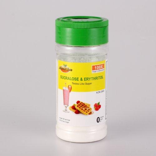 Natural Mate Sucralose & Erythritol (2oz - Sweetener 780 Servings/Bottle) - 100x Sugar's Sweetness
