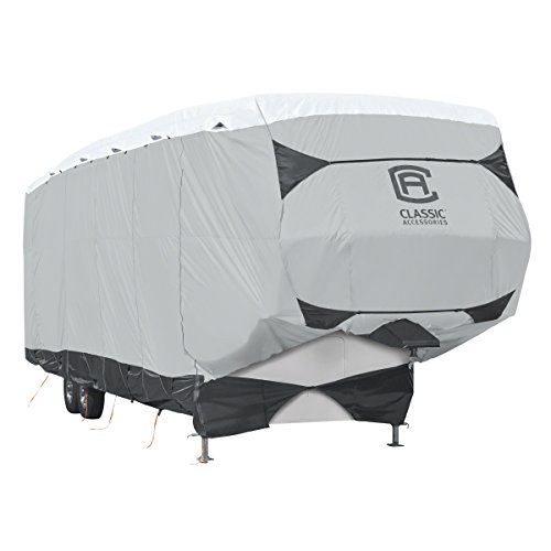 Classic Accessories SkyShield Heavy Duty 5th Wheel Trailer Cover, For 20'-23' L, 122
