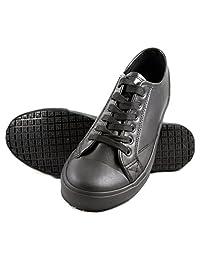 Townforst Men's Slip and Oil Resistant Carlos Shoes, Black
