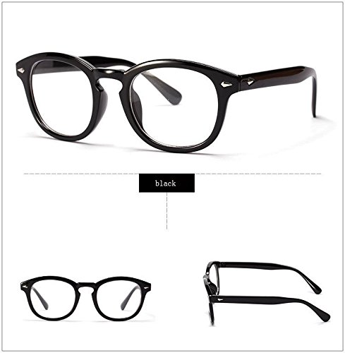 365Cor(TM)Retro Designer Eyeglasses Frames With Clear Lens johnny depp glasses Optical Degree Frames Eyeglass Eyewear oculos de grau - Johnny Depp Eyewear
