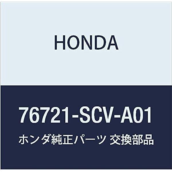 Honda Genuine 82521-S9V-A31ZD Seat Back Trim Cover Rear Left