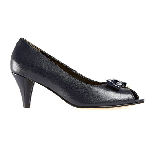 Van Dal Shoes Womens Hawkesbury X Court Shoes in Marine Navy UXlPce