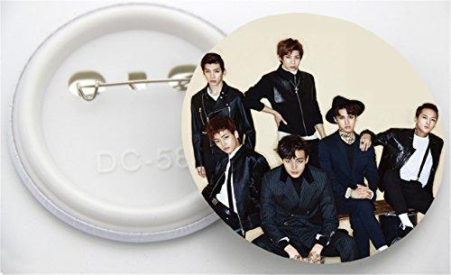 KPOP VIXX Lastest Second Mini Album Error Badge/Brooch N Ken Hyuk Chest Pin