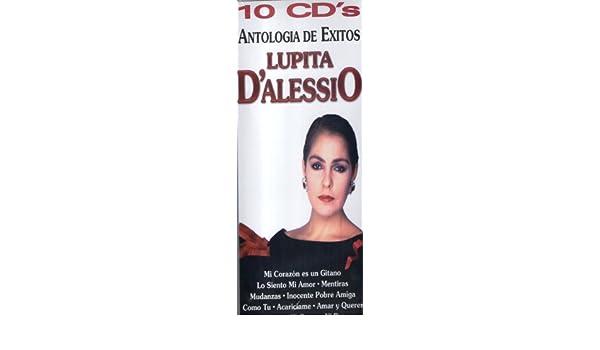 LUPITA DALESSIO - ANTOLOGIA DE EXITOS DE LUPITA DALESSIO (10 CDS, 107 EXITOS) - Amazon.com Music