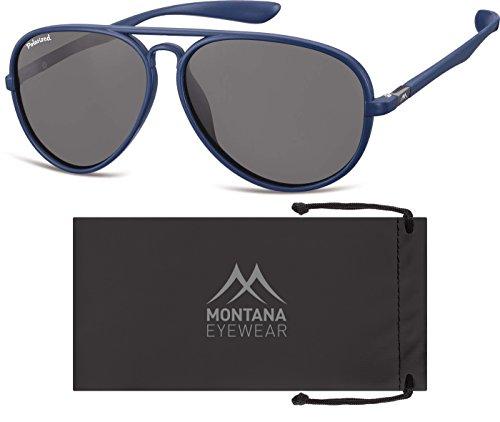 Blue Multicolore Montana Smoked Lenses Mixte Soleil Lunettes de wU4pv