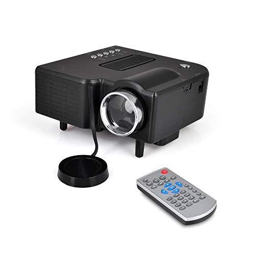 YsinoBear Full HD 1080p Mini Portable Pocket Video & Cinema Home Theater Projector - Built-in Stereo Speaker, LCD+LED Lamp, Digital Multimedia, HDMI, USB & VGA Inputs for TV PC Game Business Computer from YsinoBear