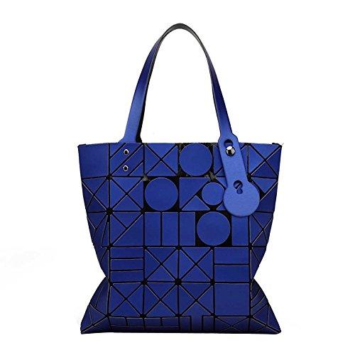 Pliage Sac Et Sac Laser Blue Lingge Mode à Sac Rubik's Femme à Bandoulière Pour Cube Main Printemps Géométrie Été wI4q8qOfH
