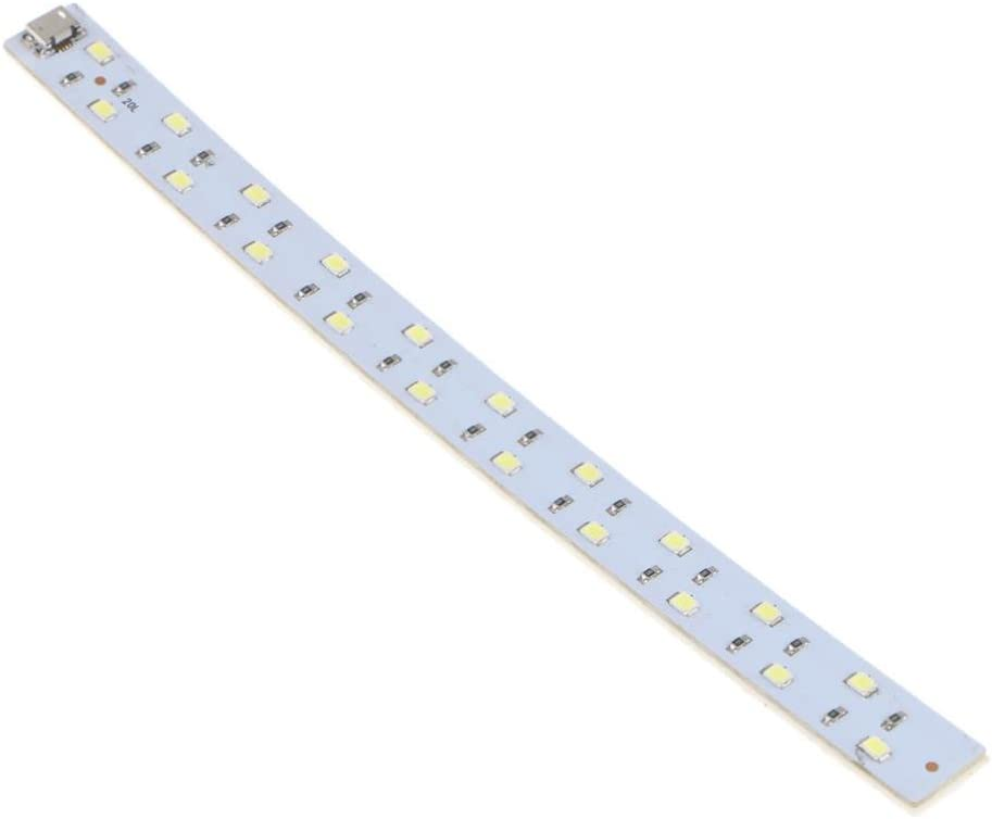 Almencla 20CM 7W 20 SMD 2538 LED Rigid Strip Hard Bar Light Recharge Tube Lamp DC 5V