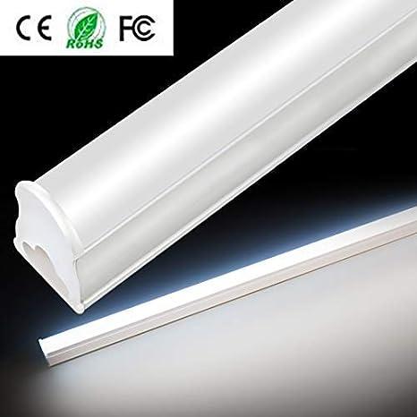 Tubo fluorescente LED T5, lámpara de techo con protección ...