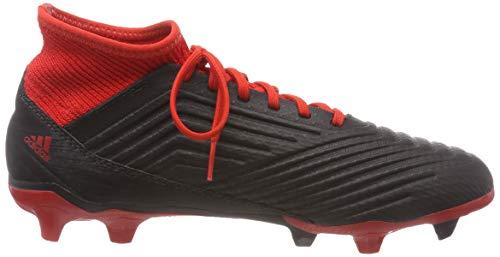 Duro 001 Adulto 3 18 Negro Adidas rojo Predator Suelo ftwbla negbás ICw6SOq
