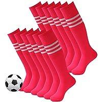 3street Unisex Triple Stripe Knee-High Over Calf Athletic...