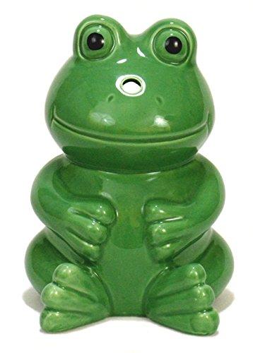 Green Frog Ceramic Cocktail Tiki -