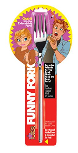 Price comparison product image Funny Fork Extendable Joke 25 Inch Gadget Novelty