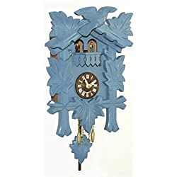 Trenkle Kuckulino Black Forest Clock with Quartz Movement and Cuckoo Chime, Turning Dancers