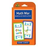 Game Cards-Math War: Addition & Subtraction 56/Pkg