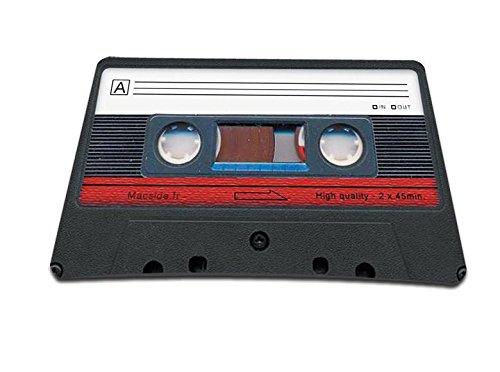 Cassette tape Design Anti-Slip Mouse Pad Mice Pad Mat Mousepad For Optical Laser Mouse