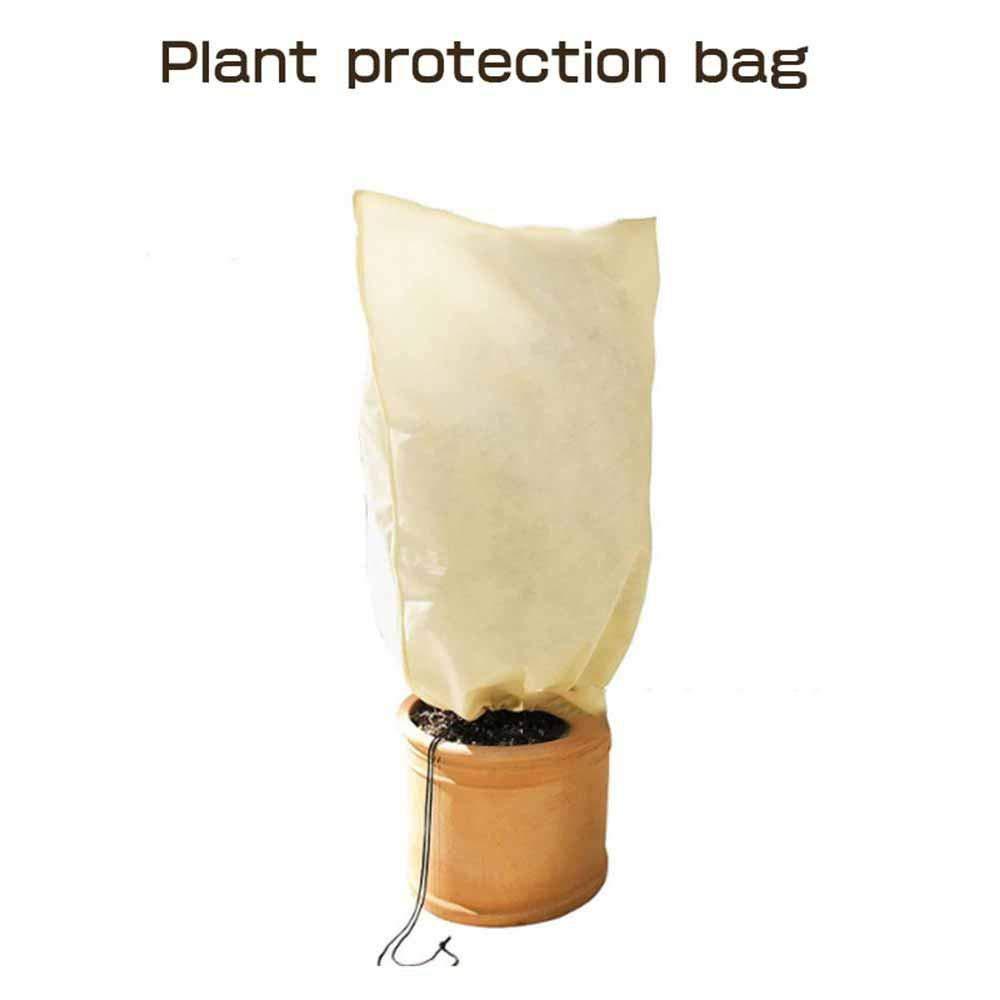 Couverture R/éutilisable pour Antigel Housse DHivernage Coupe-Vent Convient Aux Jardins Vergers Fermes Antipoussi/ère Antigel Housse De Protection pour Plantes Sac en Non Tiss/é pour Plantes