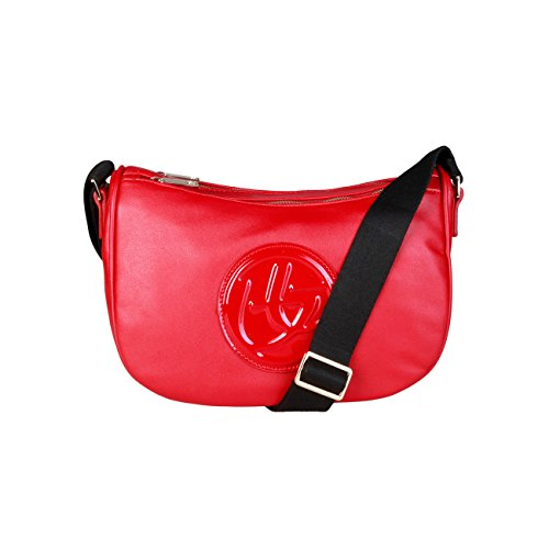Byblos Designer Rrp Blu Women Genuine Body Red Crossbody Bag Cross A0dw0qz