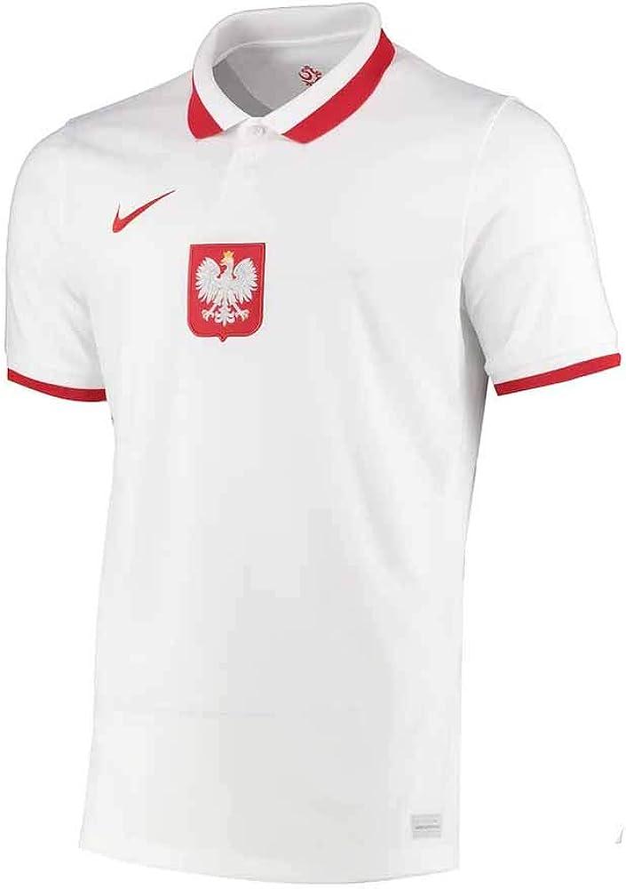 Nike 2020-2021 Poland Home Football Soccer T-Shirt Jersey