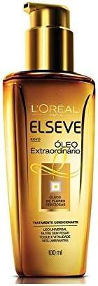 Óleo de Tratamento Elseve L'Oréal Paris Extraordinário Reconstrutor 1