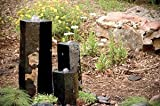 Aquascape 98264 3 Semi-Polished Stone Basalt Columns Sm 12' H, Med 20' H, Large 27' H for Pond Water Feature Waterfall Landscape and Garden