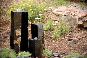 (Aquascape 98264 3 Semi-Polished Stone Basalt Columns Sm 12