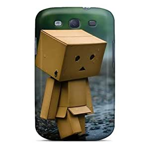 MEIMEIFashion Vli918DHPF Case Cover For Galaxy S3(danbo Rainy Sad)MEIMEI