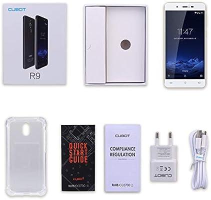 SKYYKS CUBOT R9 5.0 Pulgadas Pantalla táctil Quad Core Smartphones ...
