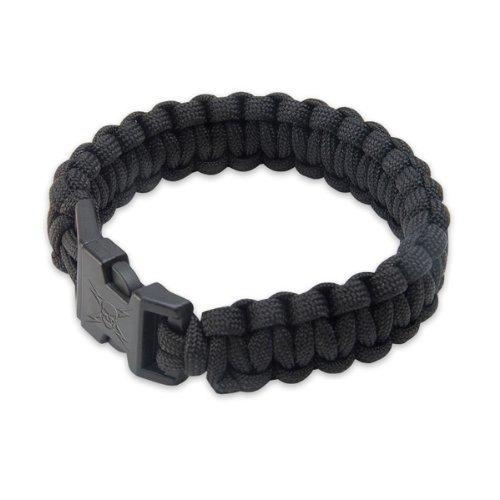 Elite Forces Paracord Bracelet, Black