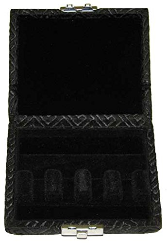 4-Reed Bassoon Reed Case Silk (Black Egyptian)
