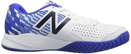 Mc696v3 Mens New Balance wit Court Hard royal Tennisschoenen waRARZ8xq