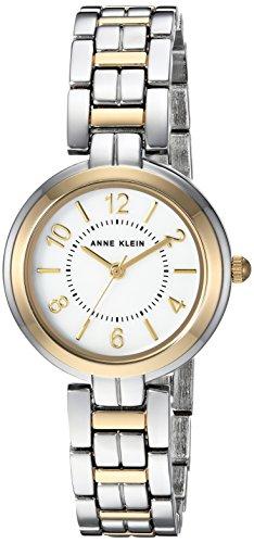 uartz Metal and Alloy Dress Watch, Color:Two Tone (Model: AK/3071MPTT) (Ak Anne Klein Womens Two Tone Watch)