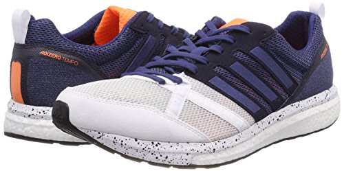 Hombre Ftwbla Adidas de Running Indnob Tempo Trail Adizero M 9 Blanco Zapatillas para 000 Negbas xwZazxPq