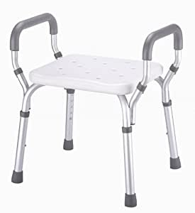 Home Care Patient Bath Safety Tub Chair Molded Shower Seat