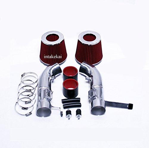 (2007 2008 INFINITI G35 3.5 3.5L V6 (SEDAN ONLY) DUAL Air Intake Kit Systems (RED))
