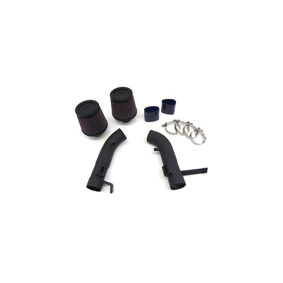 08 11 10 Infiniti G37 Coupe Short Ram Air Intake Kit Black Pipe K&N Filter