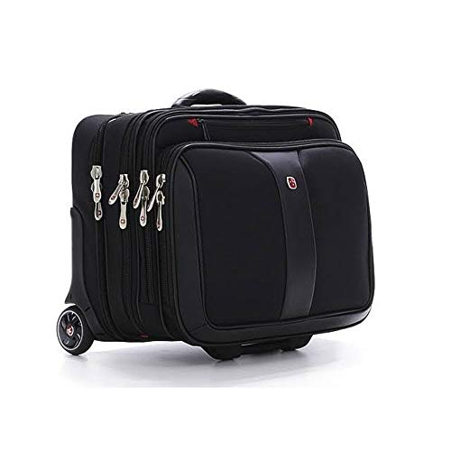 (POTOMAC from SwissGear by Wenger Computer Double Gusset Rolling Case)