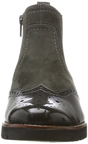 206 Grey 4 Boots Graphite Black 25400 Jana 5 Women's Chelsea SqzxPF