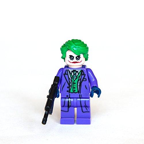 Custom The Joker From Dark Knight Character Minifigures Building Bricks Blocks Collection by Trendyz