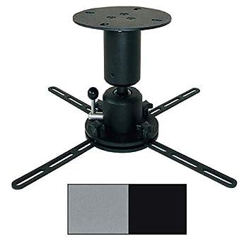 DELUXX soporte Proyector de montaje en techo Profi Line-25kg-15cm ...