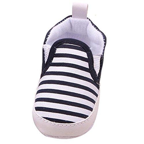 Zapatos De Bebé, RETUROM fácil de llevar Fringe bebé suavemente único pesebre Walker Zapatos calientes Negro