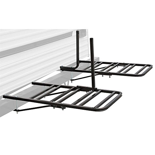 Rage Powersports BC4BM RV or Camper Trailer Bumper Bike Rack for 1-4 Bicycles