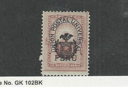 Peru, Postage Stamp, 99 Mint Hinged, 1883, JFZ