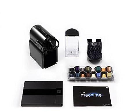 A+D40-US-BK-NE Black Nespresso Inissia Espresso Maker with Aeroccino Plus Milk Frother Discontinued Model