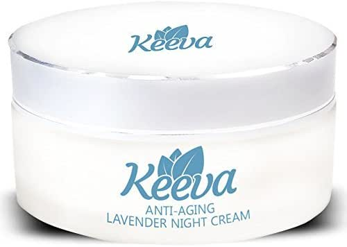 Best Retinol Anti-Aging Night Cream : for Wrinkles with Hyaluronic Acid, Lavender, Coenzyme Q10, Jojoba Oil, Vitamins & Antioxidants. Removes Lines Surrounding the Eyes, Face, and Neck