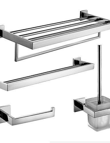 BBSLT-Juego de accesorios para cuarto de baño y toalla de baño para barra y