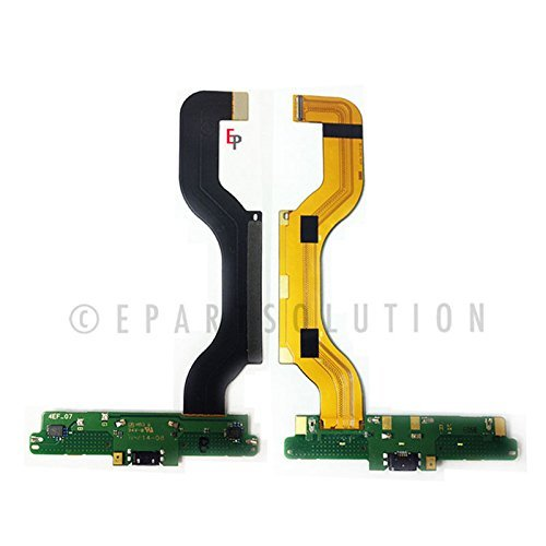 ePartSolution-OEM Nokia Lumia 1520 Charger Charging Port Flex Cable Dock Connector USB Port With MIC Microphone Repair Part USA Seller (Nokia Lumia 1520 Parts)