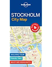 Lonely Planet Stockholm City Map 1 1st Ed.