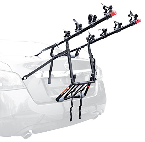 Allen Sports Deluxe 4-Bike Trunk Mount Rack (Car Bike Rack For Toyota Corolla compare prices)